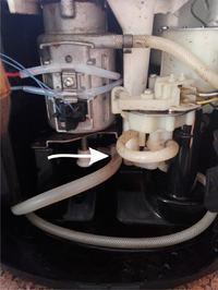 Krups 8250-Ekspres po wymianie uszczeliki dolnego tłoka i górnych