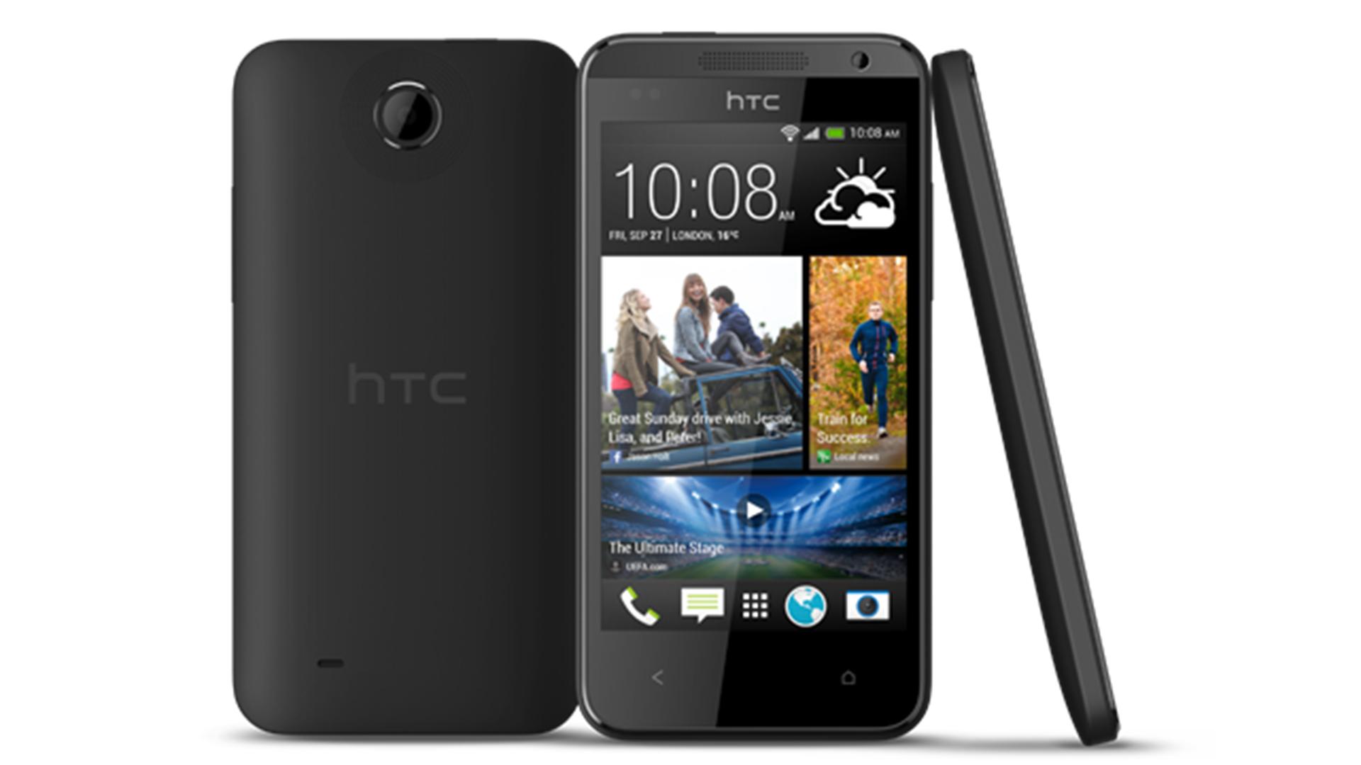 """HTC Desire 310 - niedrogi 4,5"""" smartphone z 4 rdz. proc. i Dual SIM"""