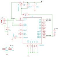 [ATmega16A] LCD z S65 + USB<>UART (FT232RL) - prośba o sprawdzenie schemat
