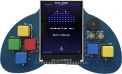 WiFiBoy32 - przenośna konsola do gier zgodna z Arduino z ESP32