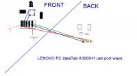 Lenovo A-3000-H - Tablet ładuje się tylko gdy jest wyłączony