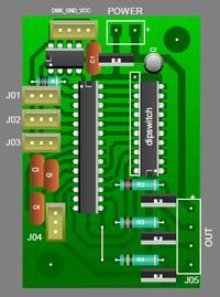 Uniwersalny sterownik DMX LED RGB [M8] - Projekt rozwijany