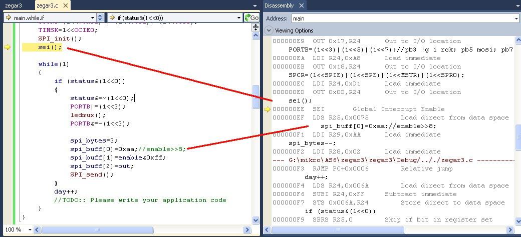[c/AS6] - debug w symulatorze