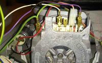 SF25M252EU - Zmywarka Siemens SF25M252EU Pompa myj�ca - dziagnoza