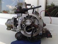 VW JETTA II gaźnik Pirburg 2E2 nierówna praca silnika na ssaniu.