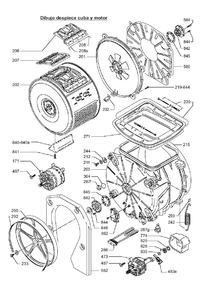 Candy CTA 84AA - Jak zdemontować bęben pralki