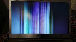 Samsung NP535U3C - Uszkodzenie taśmy czy matrycy?