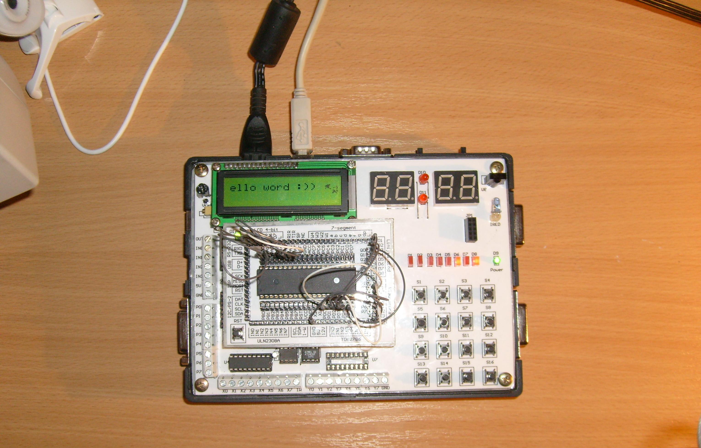 P�ytka testowa mikrokontroler�w AVR v1.1