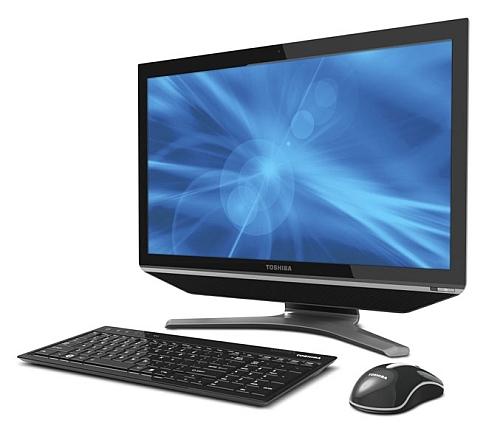Toshiba DX735 - 23-calowy komputer typu All-In-One z dotykowym ekranem full HD