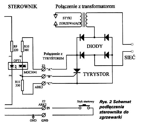 Pytanie o diod� w zgrzewarce punktowej w sterowniku NE-376-k