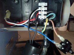 Silnik jednofazowy od pilarki stołowej MAC Allisner 2500W