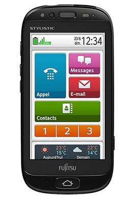 Fujitsu Stylistic S01 - smartfon dostosowany dla senior�w