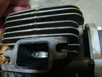 Stihl MS180 - Gaśnie na ciepłym silniku