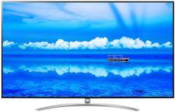 Oto najwyższy model LCD LG SM9800 Ultra HD NanoCell LED TV z pełnym podświetleni