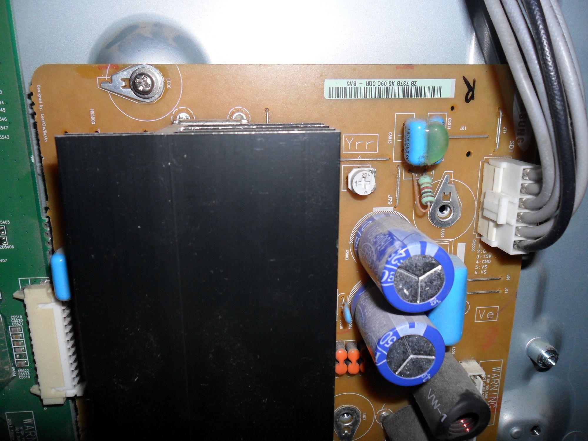 Samsung PS42C450B1W - Pstryka przeka�nik