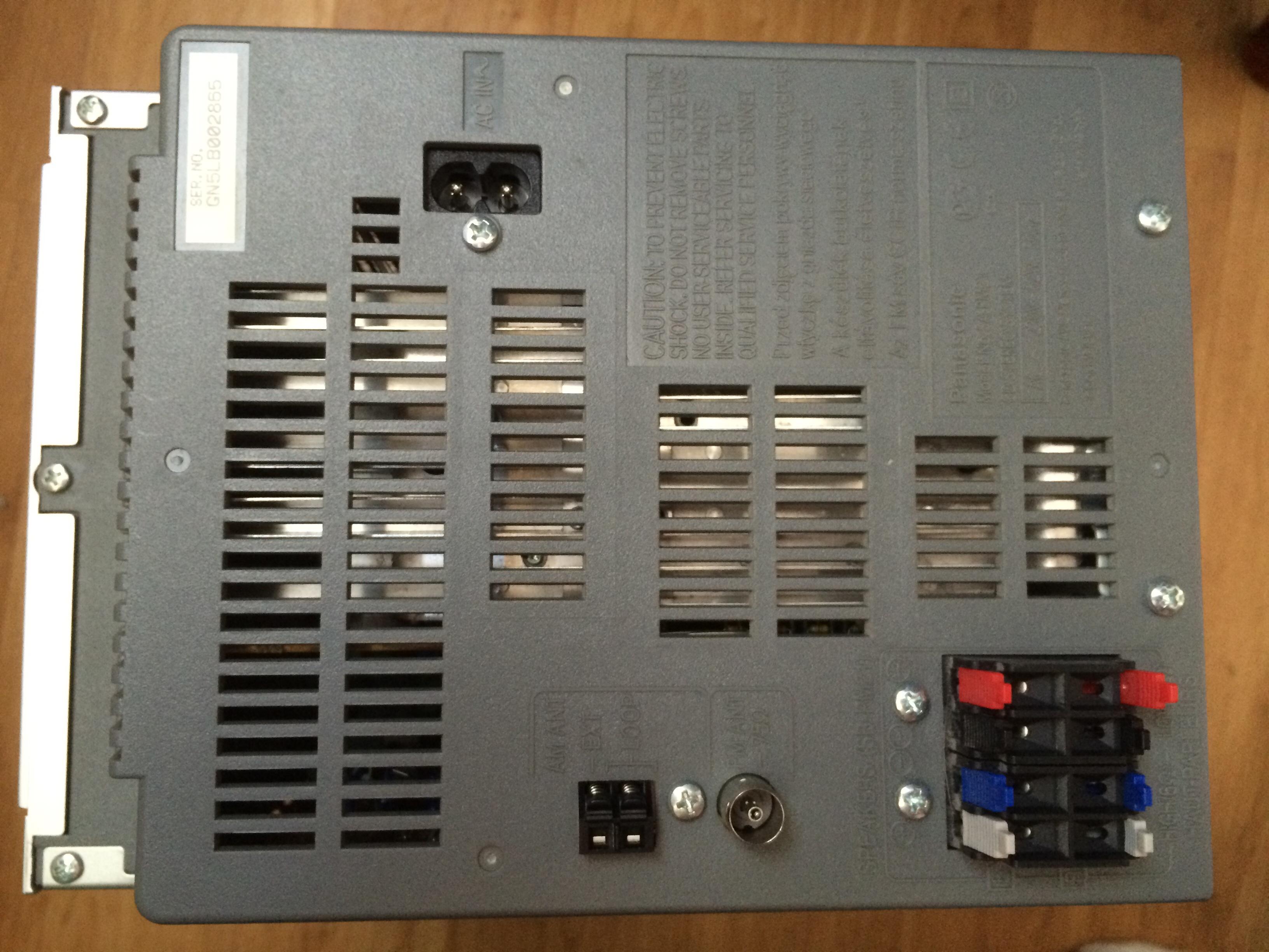 JVC i Panasonic - Pod��czenie wie�y do telewizora.