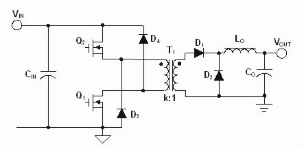 2 switch flyback converter gate driving problems