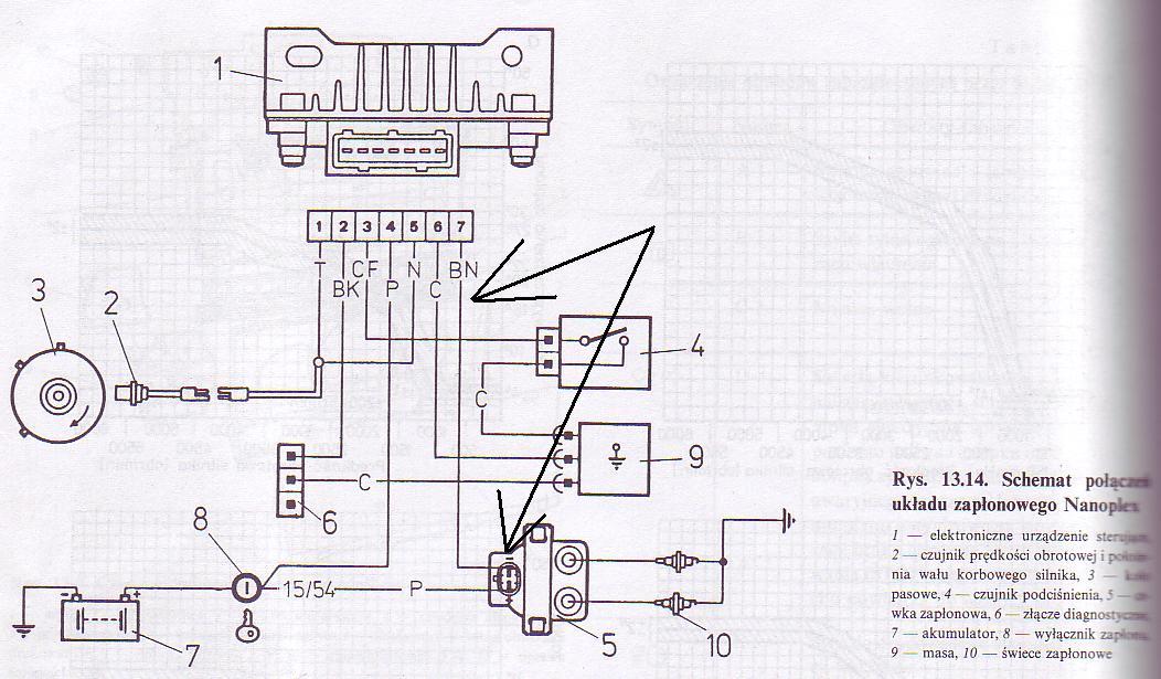 Fiat 126p el Buggy - Przerobienie zap�onu na nowy typ nie dzia�a!