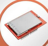 ili9325 tft colour touch screen with atmega32a