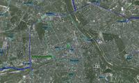 Mapa sieci 400, 220 i 110 kV
