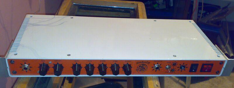 Mikrowzmacniacz gitarowy full lampa - UNHOLY
