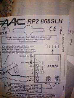 Schemat podłączenia dodatkowego włącznika kołyskowego do otwierania faac 741