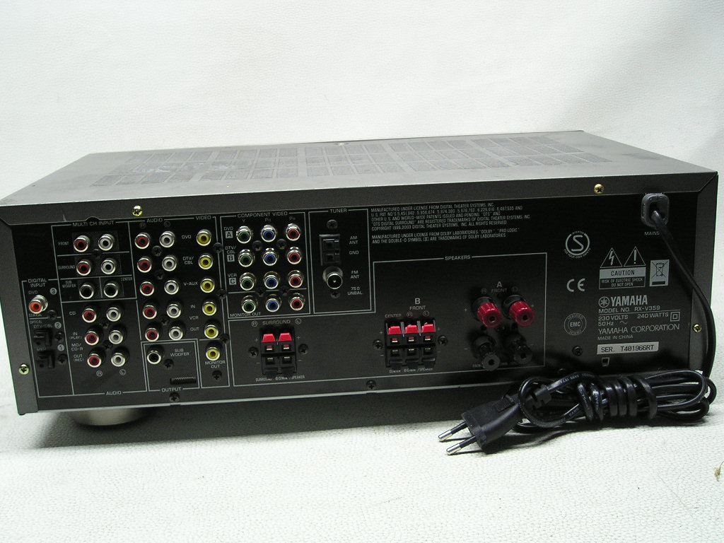 Yamaha htr-5930+FISHER EQ-9060 - Pod��czenie Yamaha HTR-5930 z Fisher EQ-9060