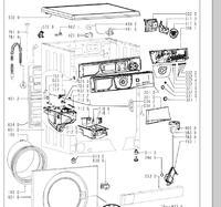 Whirpool AWM 6091 - Jak wymienić fartuch