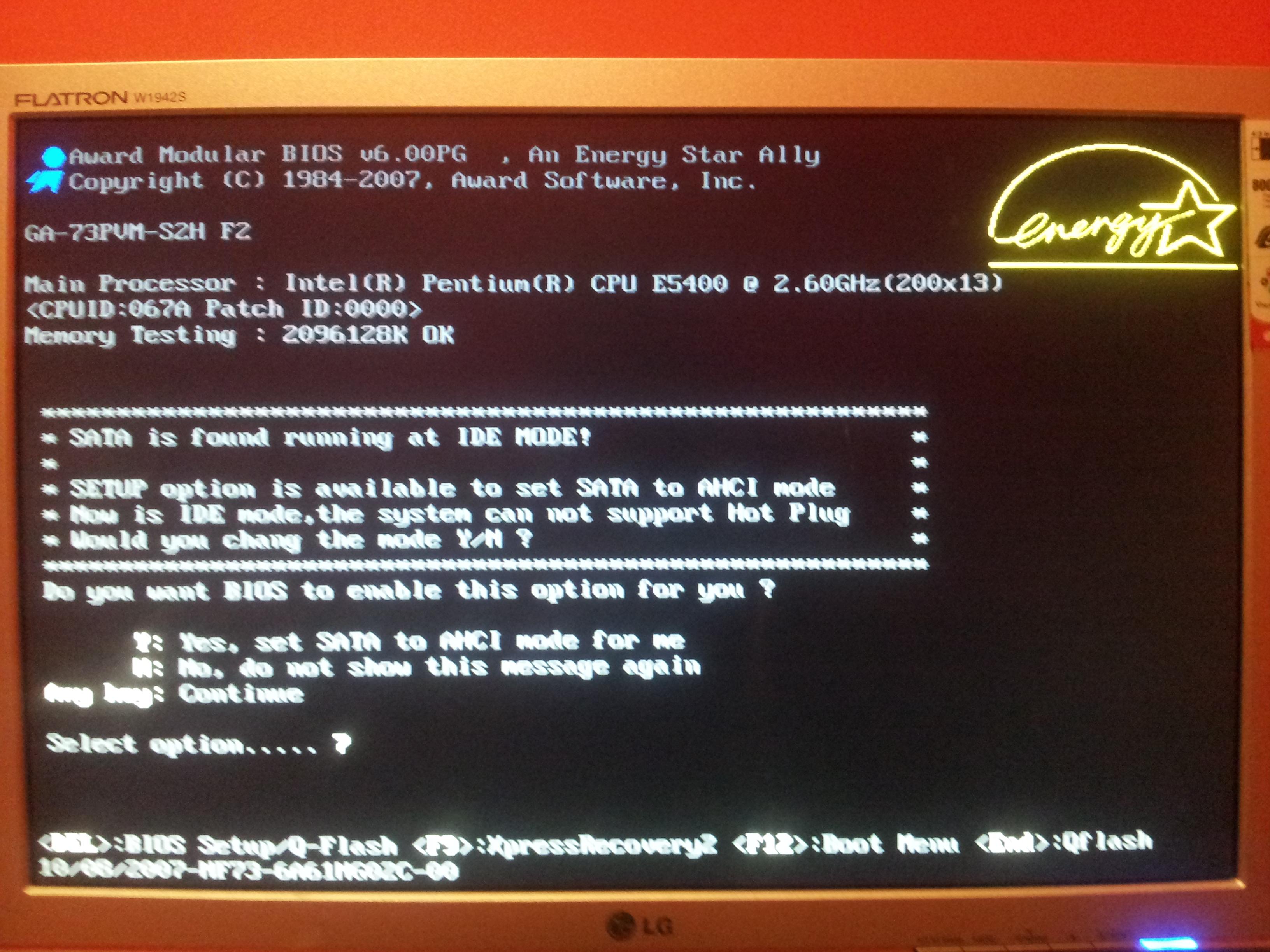 CMOS, i zawieszanie si� komputera.
