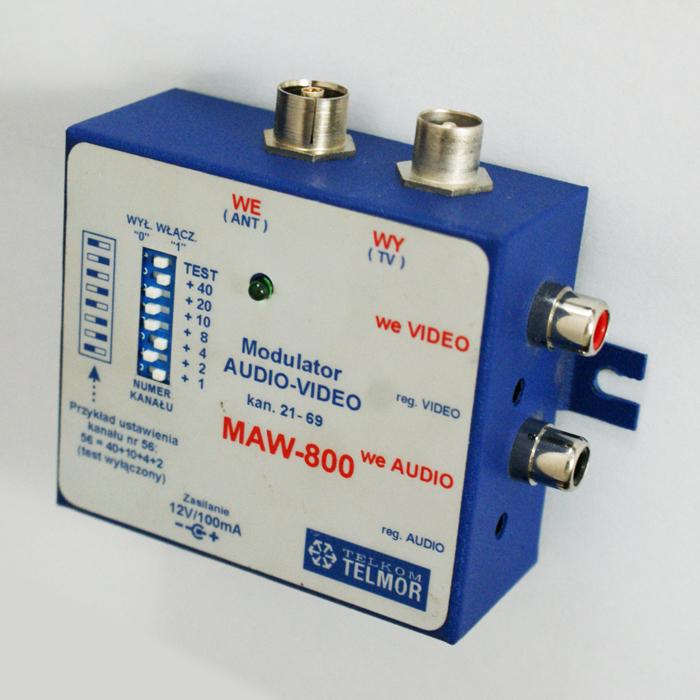 Gdzie w instalację wpiąć modulator Audio-Video
