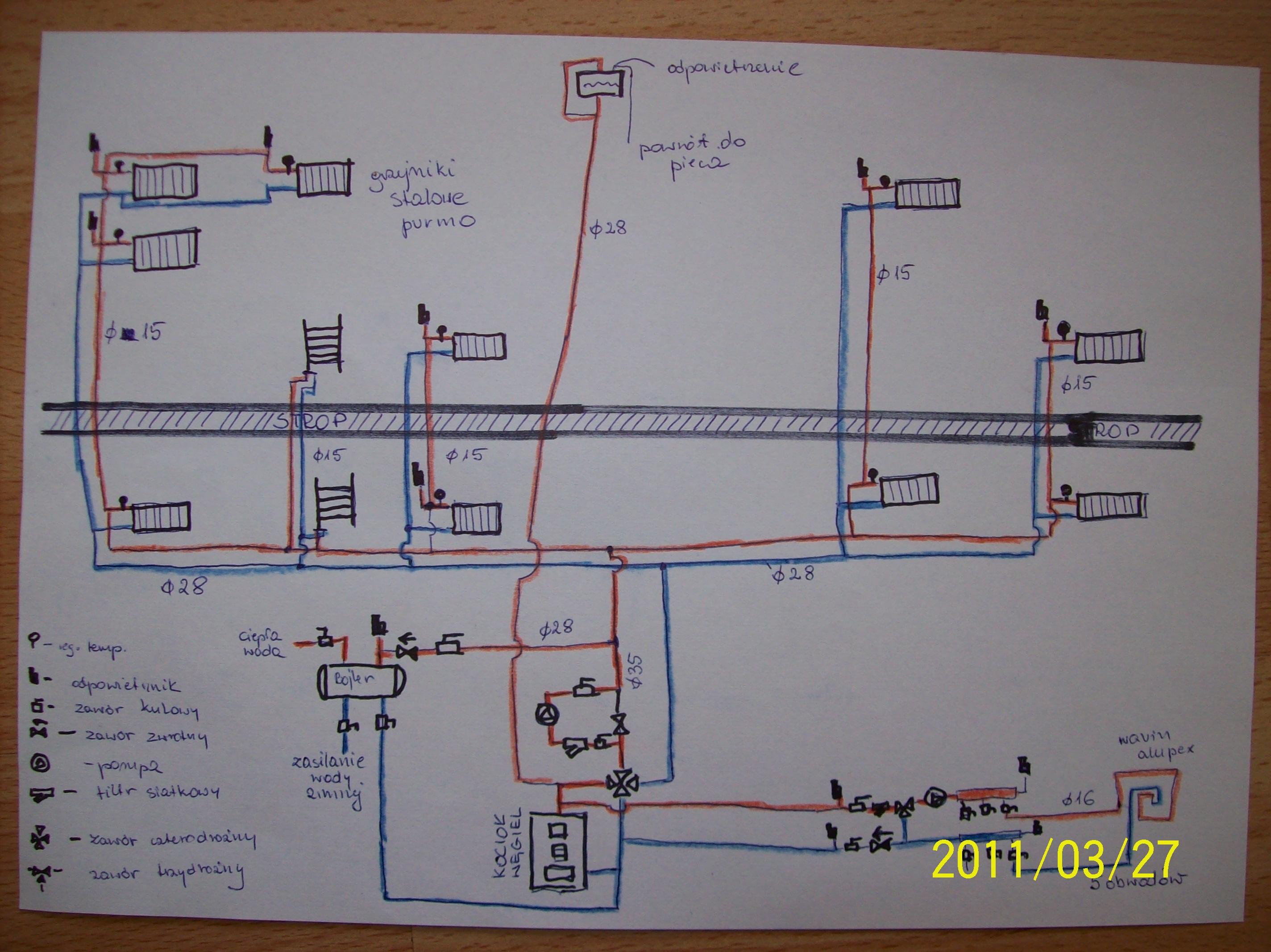 Schemat instalacji- czy poprawny