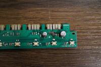 Ariston LFT3214 HX - przypalona płyta główna i panel z wyświetlaczem