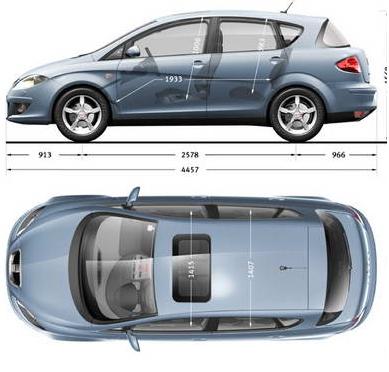 """Seat Toledo III/Altea - Gdzie bezpiecznie podstawia� """"�ab�"""", itp."""