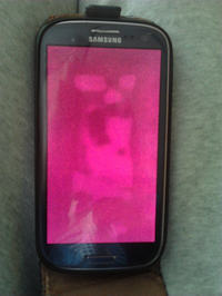 Samsung galaxy s3 czarny ekran dotyk działa