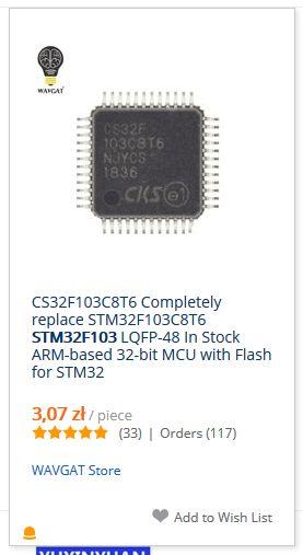 Chińskie mikrokontrolery STC