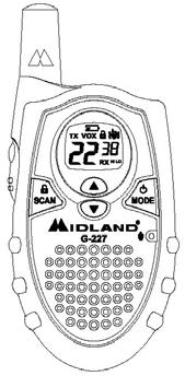 Midland G-225-227 GMRS Porto Manual EN