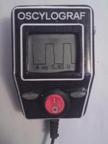 Graficzny analizator napi�� - OSCYLOGRAF cyfrowy MINI