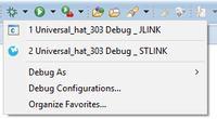 """[ECLIPSE] Zmiana """"defaultowej"""" konfiguracji debug"""