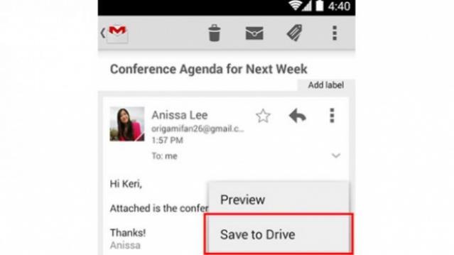 Google udoskonala aplikacj� do obs�ugi Gmaila