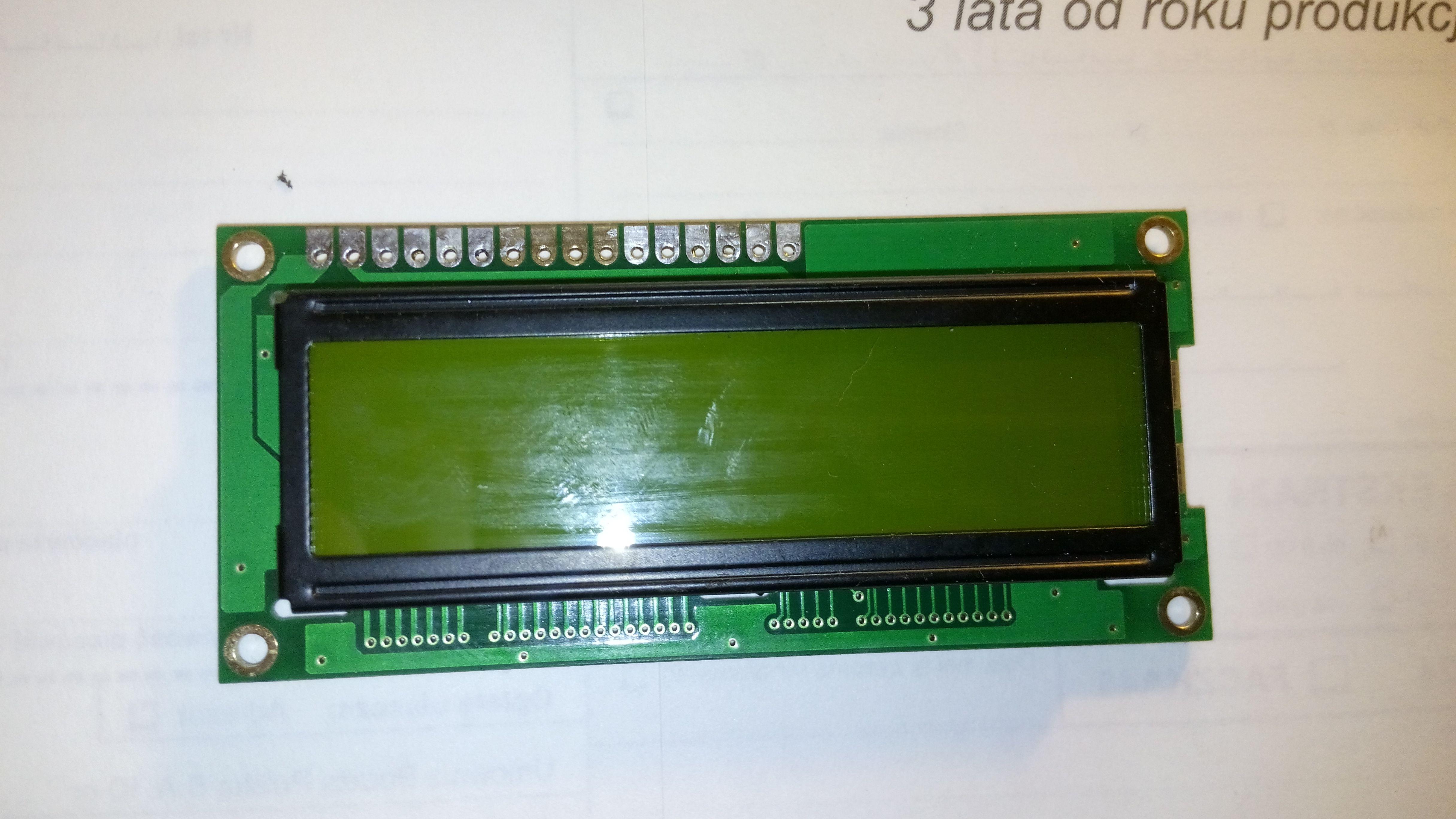 TECH ST-37 - Wymiana wy�wietlacza LCD