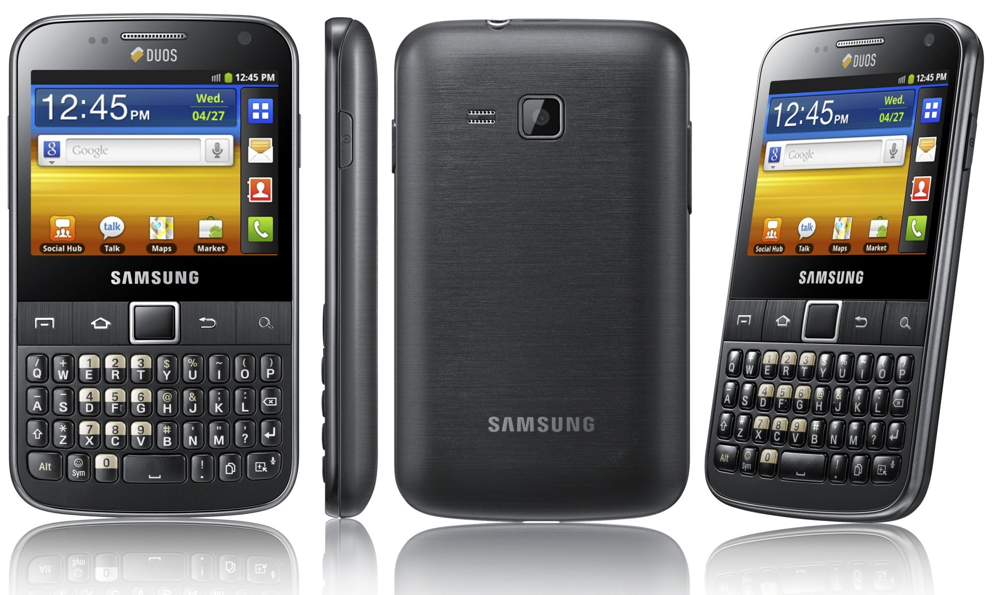 Samsung Galaxy Y Pro Duos - nowy smartphone z Android 2.3 i Dual SIM