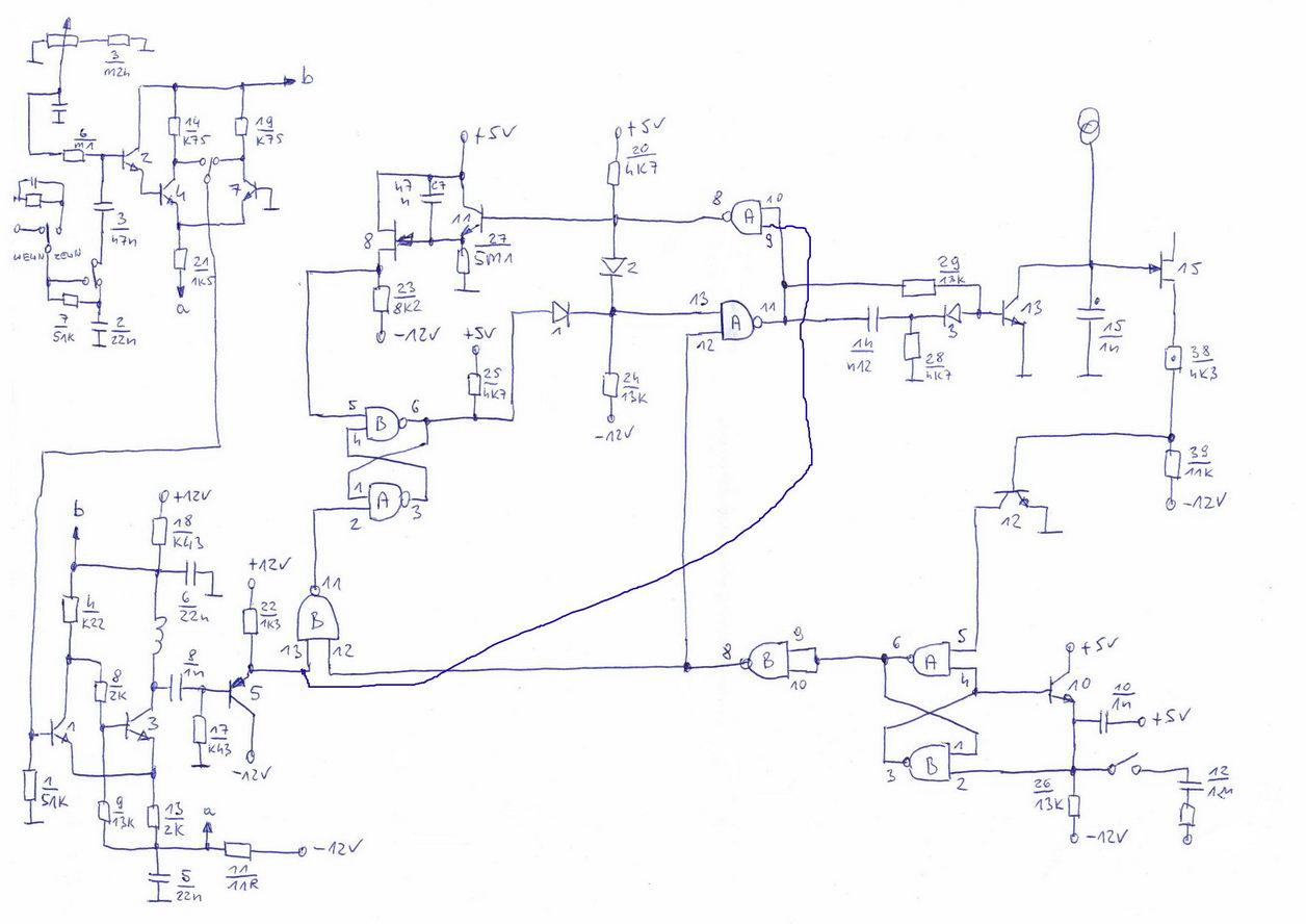 Oscyloskop C1-112A - brak synchronizacji