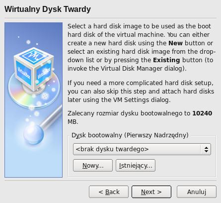 VirtualBox OSE czyli o Windows w Linux.