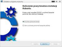Bezinwazyjna instalacja Kubuntu na Windows.