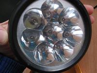 Ładowanie latarki z akumulatorem żelowym