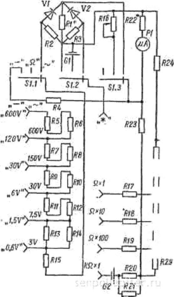 Измерительный прибор ц 91