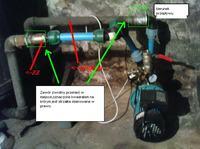 pompa z hydroforem wyłacznik cisnieniowy skacze??
