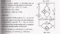 Obliczanie prądów za pomocą metody prądów oczkowych