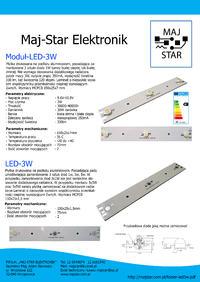 [Sprzedam] Pasek LED 3W 15 cm
