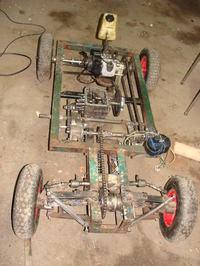 Pojazd stara wersja spalinowego
